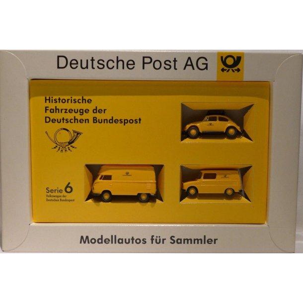 Brekina HO Serie 6 Historische Fahrzeuge der Deutschen Bundespost 435 Ny i original emballage