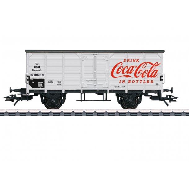Märklin 48935 DSB godsvogn G 10 ZB 99 661 DRINK Coca-Cola IN BOTTLES Nyhed 2019