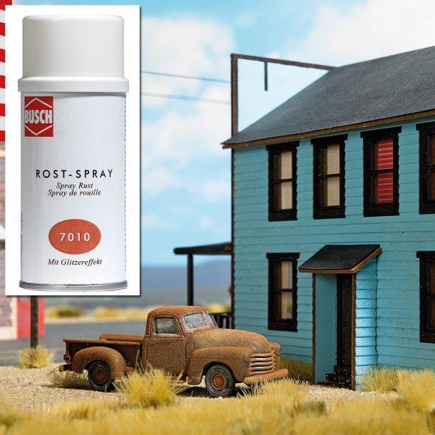 Busch 7010 Rust effekt spray til modelfremstilling og til dekorative genstande.