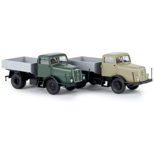 Brekina HO 71199 IFA Z 6 lastbil afhængigt af producenten en af 2 farver versioner vil blive leveret