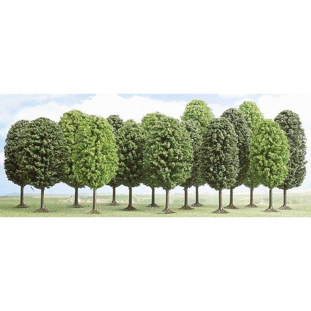 Busch 6586 spor TT/N  løvtræer 12 stk. 35-55 cm høje