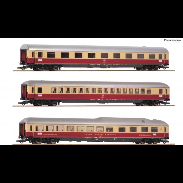 """Roco HO 74135 DB TEE 9/10 personvognsæt """"Rheingold"""""""
