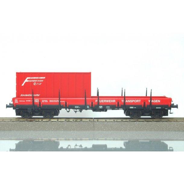 Brawa HO 47101 DB fladvogn med container