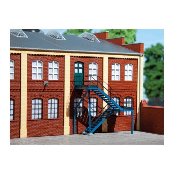 Auhagen HO 80101 Udendørs trappe 65 x 30 x 70 mm