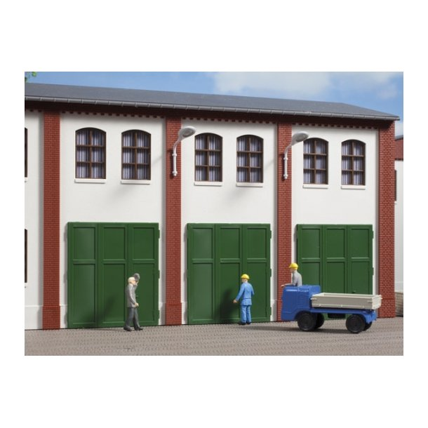 Auhagen HO 80253 Kun delvist egnet til klinker vægge.  6 Fag Hver 36 x 41 mm