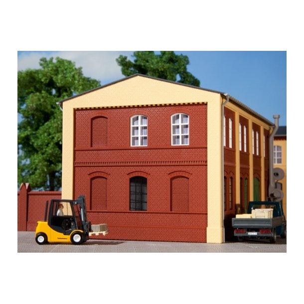 Auhagen HO 80501 Vægge 2324B rød 4 stk. 94 x 86 mm.