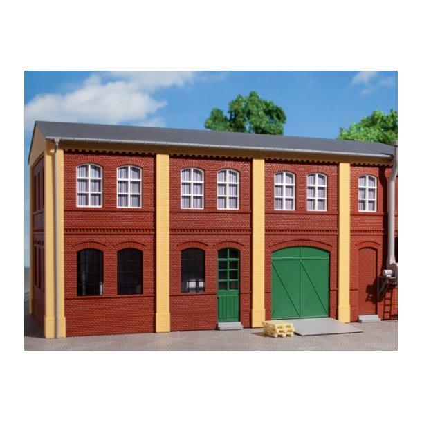 Auhagen HO 80507 Vægge 2322B, vægge 2322C, vægge 2323C rød.
