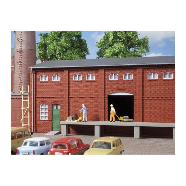 Auhagen HO 80520 Væg 2410A, vægge 2410B og vægge 2410D rød