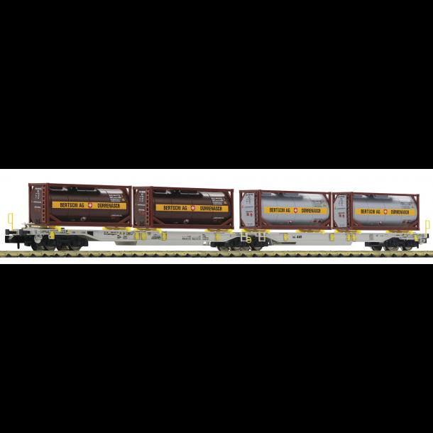 Fleischmann 825007 AAE dobbelt taskevogn T2000 med tank container
