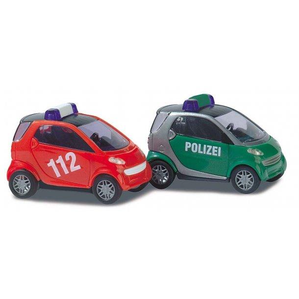 Busch 8351 spor N Smart Polizei og brandvæsnet