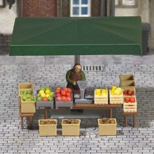 Busch HO 7706 Mini verdensmarkedet stall