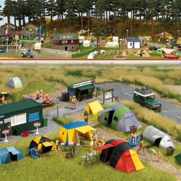 Busch HO 6044 Campingplads