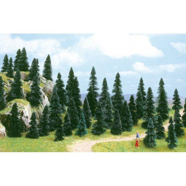 Busch 6599 spor N/Z 100 stk. Gran træer