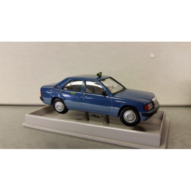 Brekina 90466 Mercedes 190E Dansk Taxa