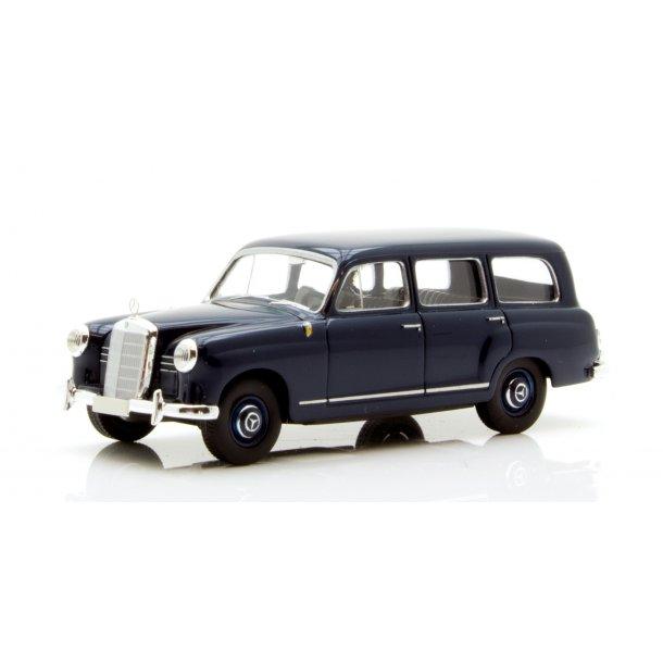 Brekina HO 91345 Mercedes Benz 180 Kombi mørkeblå. Fra Starmada