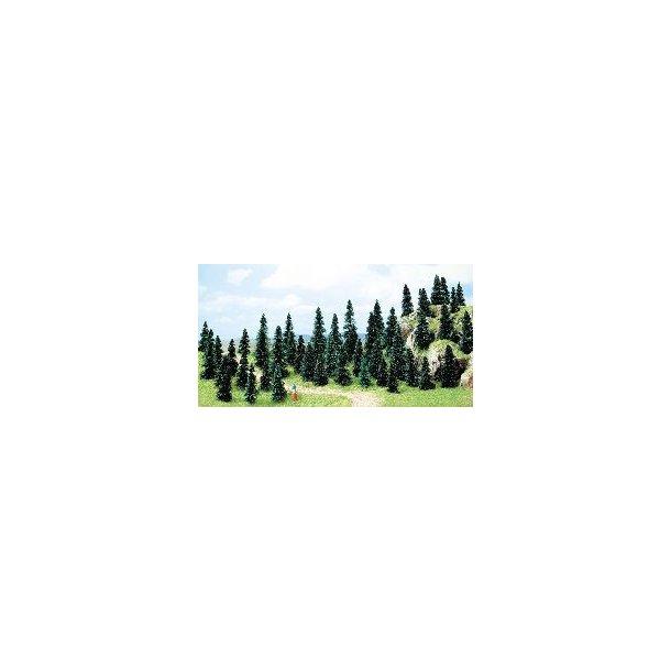 Busch 6597 spor N/Z 50 stk. Grantræer 30-50 mm høj