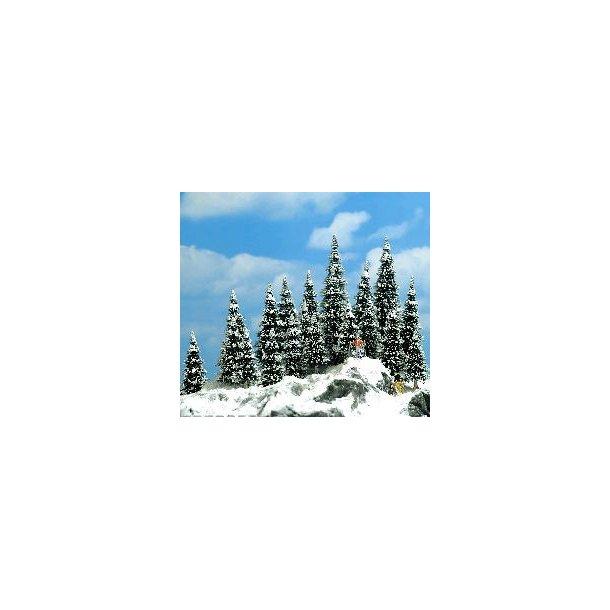 Busch 6566 spor TT/N grantræer med sne 20 stk. 30-60 mm høj.