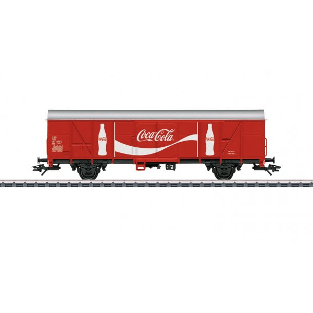 Märklin 47366 SJ godsvogn Gbs Unik serie i Coca-Cola® design. Nyhed 2019